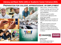 Literacy and Basic Skills (LBS)/Academic Career Entrance (ACE)