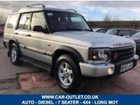 2003 LAND ROVER DISCOVERY TD5 GS AUTO 4X4 7 SEATER LONG MOT 136 BHP DIESEL