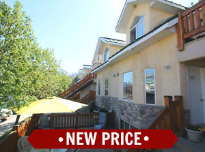 NEW PRICE! Updated 2 bed 2 bath Condo For sale in Fernie BC
