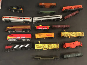 HO Scale Trains sets and accessories