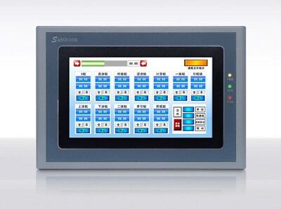 Sk-070fs Samkoon 7 Inch Hmi Touch Screen 800480 With Ethernet Replace Sk-070as
