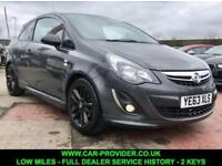 2013 VAUXHALL CORSA 1.2 LIMITED EDITION LOW MILES FULL SERVICE HISTORY 2 KEYS