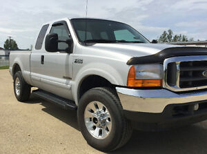 SOLD!  2001 Ford F-250 xlt Pickup Truck