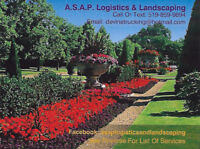 A.S.A.P. Logistics & Landscaping (Lawn Care)