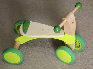 Wooden Bike for toddlers (Hape Scoot Around)