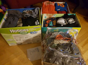 Baby boys clothes diffent sizes from 6-18 months