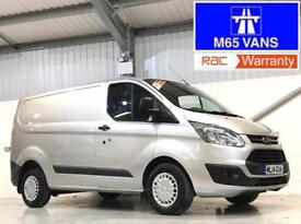 FORD TRANSIT CUSTOM TREND LOW MIEAGE 48,000 2.2TDCi 125PS 290 L1H1 SILVER SWB