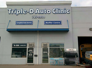 Triple D auto clinic summer service promotion