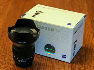 Zeiss ZE 21mm Camera lens for Canon Stratford Kitchener Area image 1