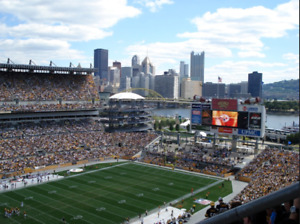 Pittsburgh Steelers vs New England Patriots. TRAVEL PACKAGE