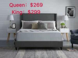 PLATFORM BED IN DOUBLE/ QUEEN /KING STARTS FROM $239