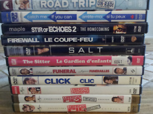 DVD movies and T.V shows, BEST OFFERS ACCEPTED