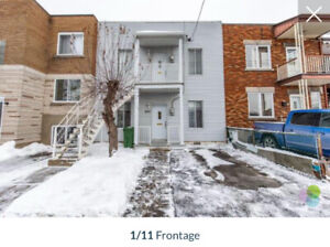 4 1/2 DUPLEX FOR RENT IN LACHINE!! BEAUTIFUL, SPACIOUS, PRIVATE