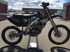 2005 CRF450R bush bike, Hinson clutch, Stab mount, Vapor, Warp 9