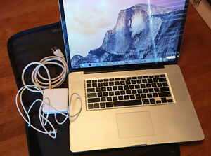 "MacBook Pro 17"" laptop"