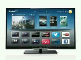 "PHILIPS 50"" LED SMART WI-FI TV 4000 series Ultra-Slim Smart LED TV 50PFL4208T/12"