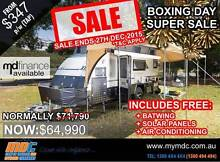 NEW MDC XT-17 OFFROAD HYBRID CARAVAN SALE - CAMPER TRAILER PARK Garbutt Townsville City Preview