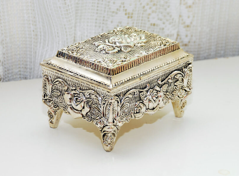 How to Care for an Antique Silver Box