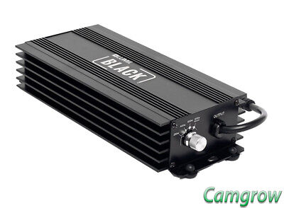 Lumii - Black 600w  Electronic Digital Dimmable Ballast Hydroponics