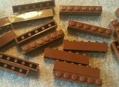 *NEW* Lego Redish Brown 1x6 Bricks - Lot Of 20 - 4211193