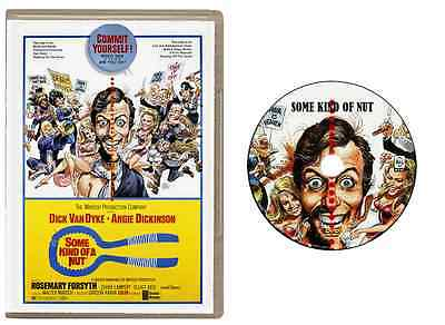 Some Kind of a Nut 1969 DVD - Dick Van Dyke, Angie Dickinson- USA (Kind Van)