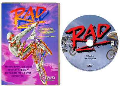 Rad Dvd  1986  Hd 720P Widescreen Special Edition Bmx Racing Movie New   Sealed