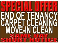 BOOK CHEAP PROFESSIONAL CARPET, END OF TENANCY CLEANING, MOVE-IN, DOMESTIC CLEANERS SOFA MATTRESS