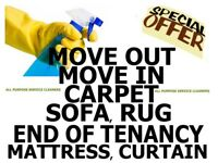 HOUSE OR FLAT PROFESSIONAL DEEP CLEANERS, END OF TENANCY , MOVE-IN, CARPET CLEANING SERVICES, SOFA