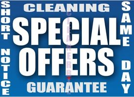 SHORT NOTICE End Of Tenancy Cleaner Carpet Deep Oven House After Builders Domestic Cleaning Services