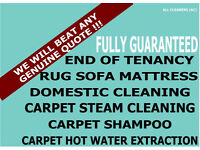 NEW YEAR OFFER FROM £6 DEEP END OF TENANCY CLEANERS, CARPET CLEAN, UPHOLSTERY CLEANING PROFESSIONALS