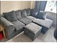 DYLAN JUMBO CORD Corner Sofa And 3+2 Seater Sofa AVAILABLE NOW