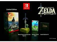 Zelda: Breath of The Wild - Limited Edition