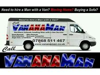 Man with a Van for Hire removals collections deliveries motorcycle Craigavon Belfast Newry