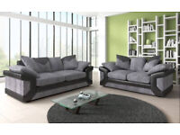 30 Days Money Back Guranteed - Brand New Dino 3+2 Sofa Available in Colours Order Now