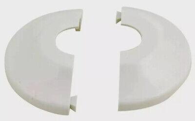Replacement Split Fire Sprinkler Plastic Escutcheon White- 12 Ips
