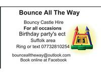 Bounce All The Way hire