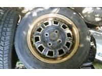 MG B Jubilee wheels, set of 5
