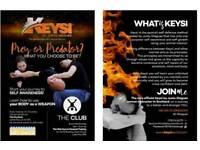 Keysi Self Defence classes