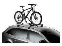 Thule 598 ProRide Locking Upright Cycle Carrier PLUS Thule 984 Carbon Frame Protector