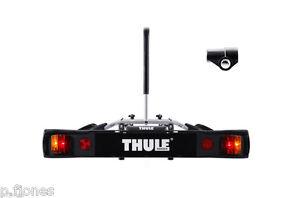 Thule-9502-Towbar-2-Two-Bike-Cycle-Carrier-Thule-957-Towbar-Lock