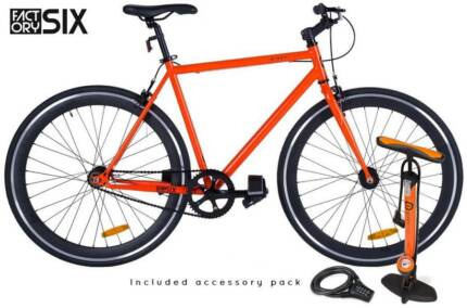 FactorySIX in Fiery Orange includes Pump, Lock & Free Delivered Newcastle 2300 Newcastle Area Preview