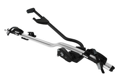 Thule ProRide 598 Twin Pack Silver Roof Mount Cycle Carrier Bike Rack