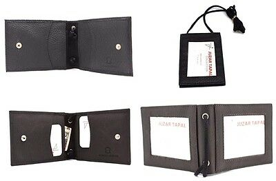 Neck Strap ID Badge Credit Card Holder Hanging Pouch Wallets Mini Cross Body JTC