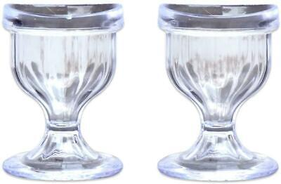 Eye Wash Cup Easy & Comfortable Washer Cleaning Cleanse Transparent Set of 2
