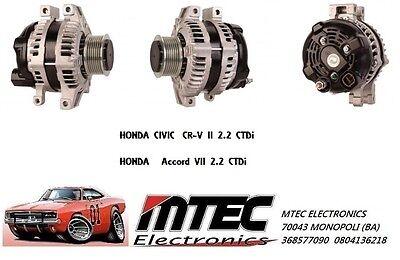 Alternador Honda Accord Civic 2.2 CDTI Hyundai Fr-V