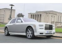 Rolls Royce Series 2 with starlight, rear entertainment, white leather - when ONLY THE BEST WILL DO