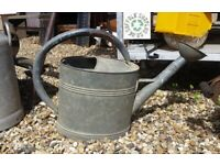 Vintage french watering can - garden - indoor - outdoor - planter