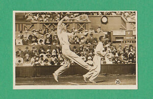 R.  &  J.  HILL  LTD.  -  RARE  SPORTS  CARD  -  TENNIS  -  1934