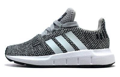 ADIDAS Originals Swift Run Kinder Sneaker Laufschuhe Sportschuhe grau  ()