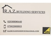 RAZ building, plumbing & heating, maintenance, gas safety certificate